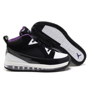 air max jordan flight 9 noir club purple blanc