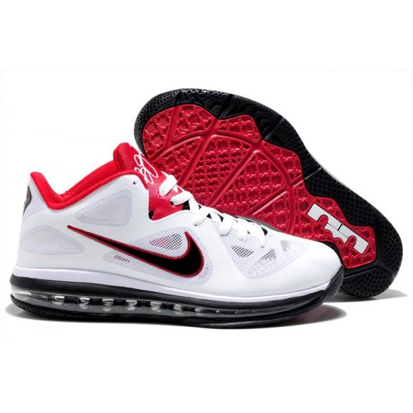 De Blanc 9 Usa Chaussures Lebron Basse Rouge Basket LqRc3S54Aj