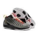 Air Jordan 2012 Super Fly gris rouge or