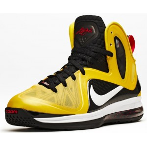 nike lebron 9 ps maize noir blanc