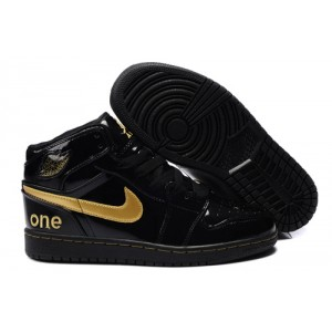 air jordan 1 noir et or