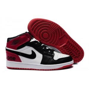 acheter en ligne 47135 eec2b nike jordan 1 phat noir blanc rouge cardinal