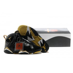 Nike Air Jordan VII 7 Retro GMP d'or noir