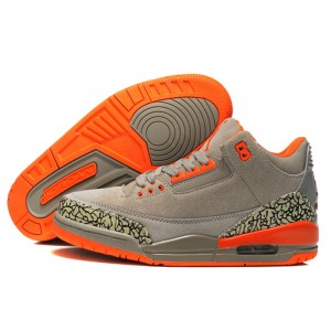 Air Jordan 3 gris orange éléphant