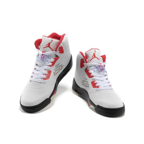 détaillant en ligne c5350 aaff7 air jordan blanc et rouge femmes et hommes pas cher