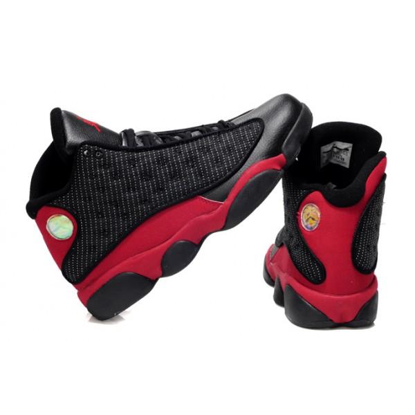 air jordan 13 retro noir et rouge