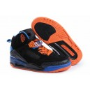 jordan 3.5 spizike fille noir orange bleu