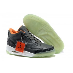 air jordan 3 yeezy glow dark gris orange