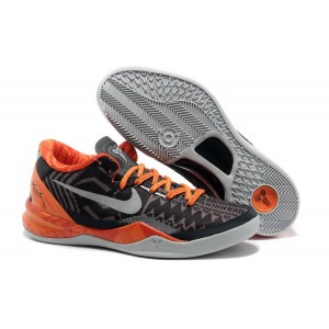 kobe 8 bhm noir gris orange
