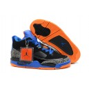 nike air jordan son of mars basse noir bleu orange ciment
