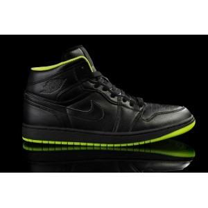 aire jordan 1 noir néon vert XX8 Days of Flight