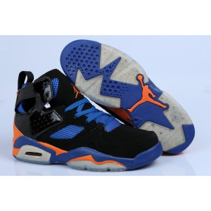 Jordan Flight Club '91 Knicks noir bleu orange
