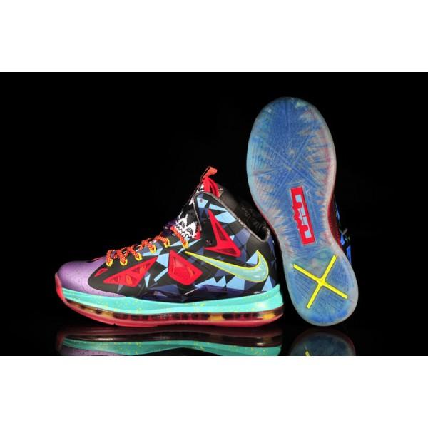 buy online 6ce6f 123f5 basket lebron james 10 femme multicolore