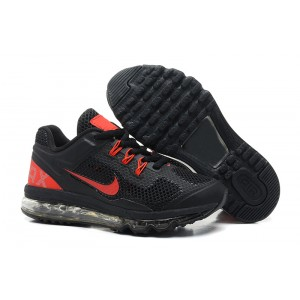 air max enfant fille noir rouge
