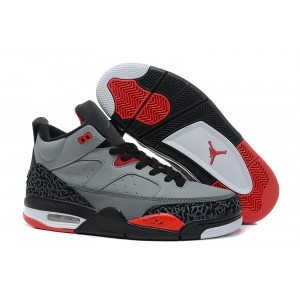 Jordan Son of Mars gris ciment rouge