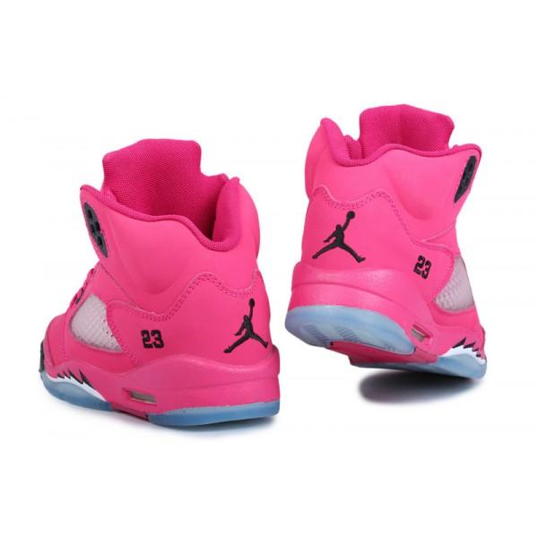 a001080e4b5ba Acheter Air Jordan enfant 3.5 spizike noir rose foncé pas chere,