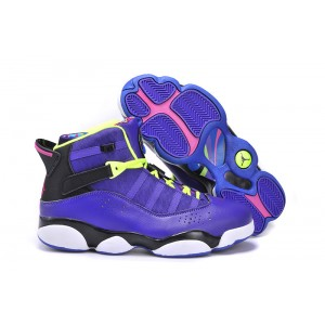 Jordan 6 Rings Bel-Air violet noir