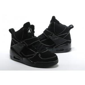 date de sortie 9be40 87f54 Nike Air Jordan Flight 45 tout noir femme