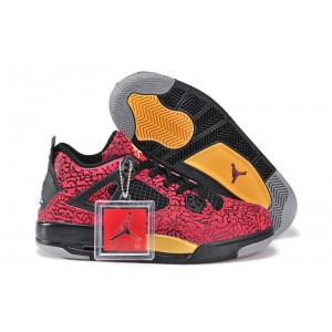 air jordans retro 4 femme rouge elephant print