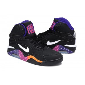 air force 180 mid noir rose violet