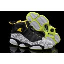 air jordan 6 rings retro Elephant noir blanc vert