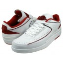 Nike Air Jordan Retro 2 blanc rouge noir