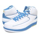Basket Air Jordan 2 Retro blanc bleu jaune