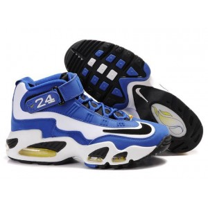 chaussures de basket Griffey max 1 royal blanc