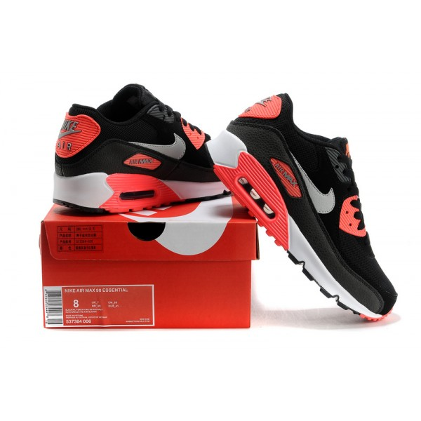 air max 90 chaussure pour fille noir infrarouge