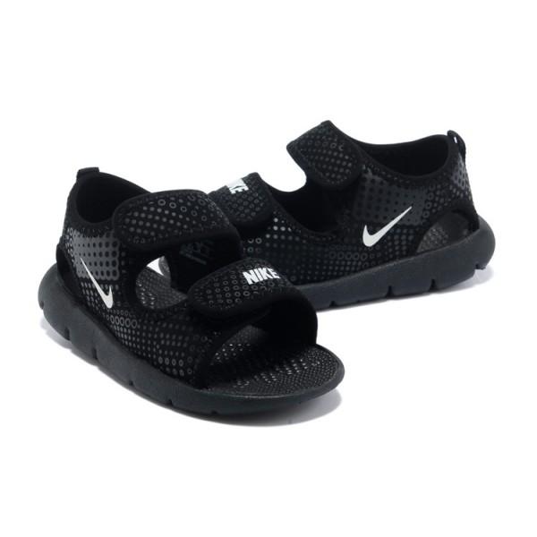 énorme réduction meilleur endroit pour New York nike sandale enfant noir