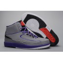 Air Jordan II gris iron purple