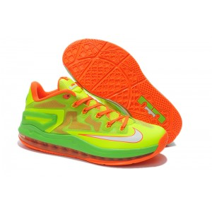 lebron 11 low volt orange