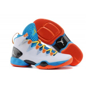 air jordan XX8 SE blanc bleu orange pas cher