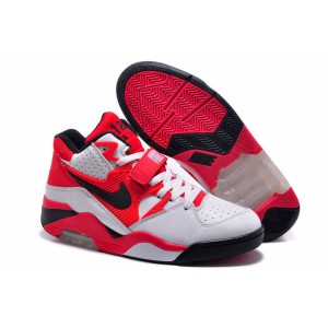 chaussures nike air force 180 blanc noir rouge