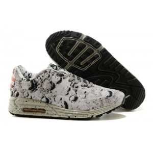 basket nike air max 90 lunar moon gris