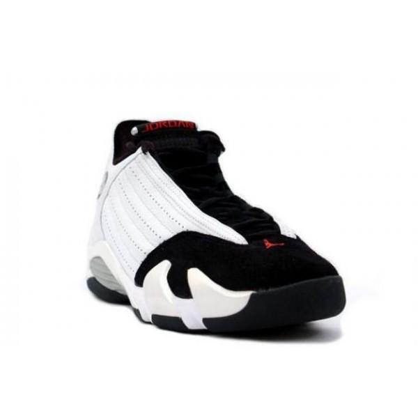 Des chaussure Air Jordan 14 blanc noir rouge