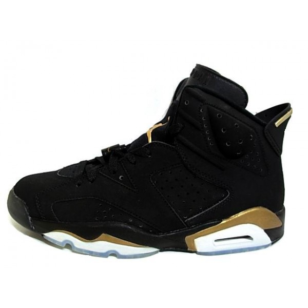 air jordan retro noir et or