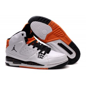 basket air jordan sc-1 blanc noir orange