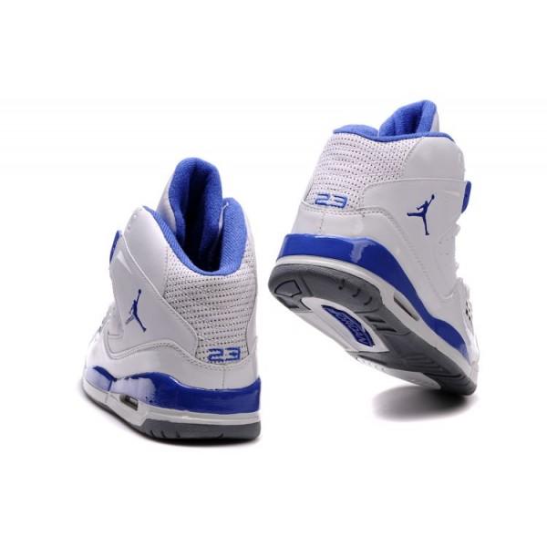 jordan bleu blanc