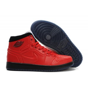 Nike Air Jordan 1 anodized rouge noir