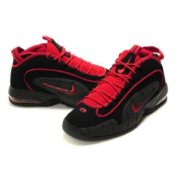 basket nike rouge et noir