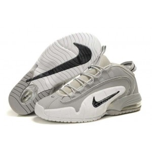 Air Max Penny 1 loup gris blanc