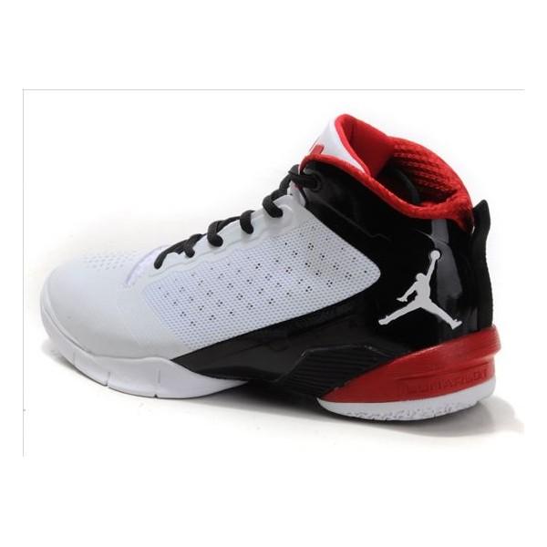 jordan chaussure blanc et rouge