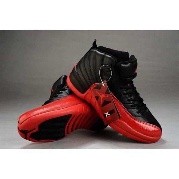 factory price best deals on top quality vente de basket jordan femme 12 retro noir rouge pas chere